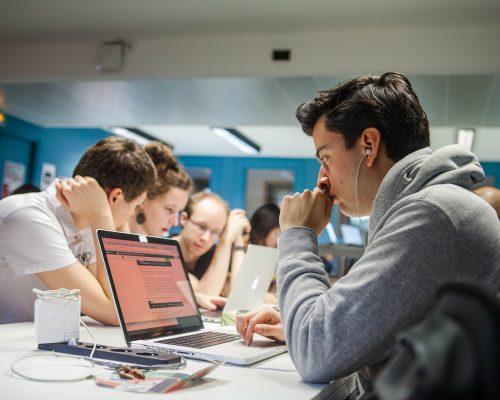 Etudiants Coding Academy Epitech Développeur